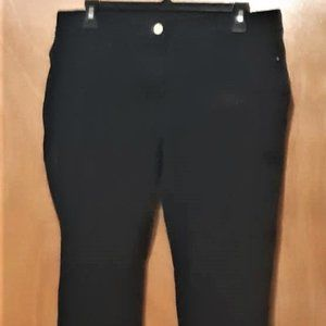 The SO SLIMMING SLIM JEAN by CHICO'S Black Stretch